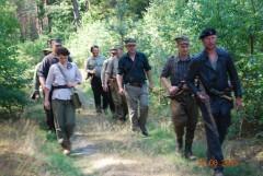 Trzy dni przez lasy - śladami partyzantów