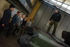 Wizyta uczniów LO im. ONZ wBiłgoraju wWojskowej Akademii Technicznej