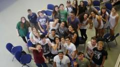 Biłgorajska młodzież wIzraelu