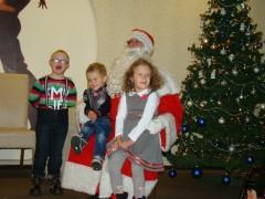 Św. Mikołaj spotkał się zpodopiecznymi Przedszkola Specjalnego