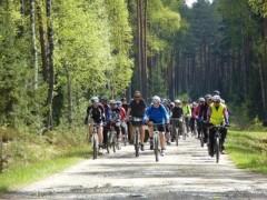 Ekomajówka na rowerach