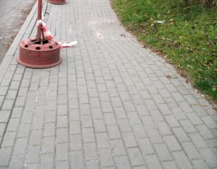 Nowe chodniki za 340 tysięcy złotych