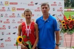 Brązowy medal Weroniki Pyzik