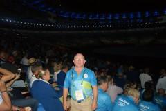 Zdzisław Żołopa sędziuje na Igrzyskach Olimpijskich