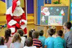 Św. Mikołaj odwiedził przedszkolaki