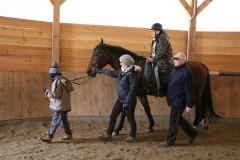 Terapia na koniu wZespole Szkół Specjalnych