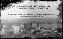 Pamięci pomordowanych Żydów