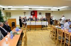 Świąteczne spotkanie słuchaczy Uniwersytetu Trzeciego Wieku