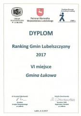 Łukowa wśród najlepszych gmin Lubelszczyzny