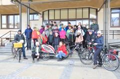 Rowerzyści powitali wiosnę