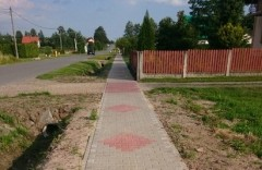 Nowe chodniki wtrzech miejscowościach