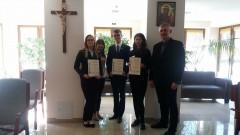 Joanna Skwarek zI LO im. ONZ wBiłgoraju finalistką XXVIII Olimpiady Teologii Katolickiej