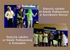 Teatrzyki szkolne zGromady iKorytkowa Dużego podbiły lubelską scenę