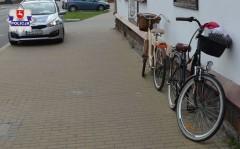 Zderzenie rowerzystek