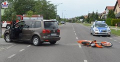 17-letni motocyklista poważnie ranny wwypadku