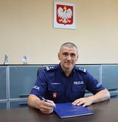 Nowy zastępca komendanta powiatowego policji