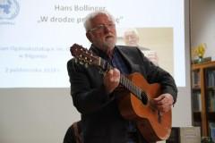Spotkanie autorskie zHansem Bollingerem