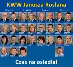 KWW Janusza Rosłana - lista nr 18