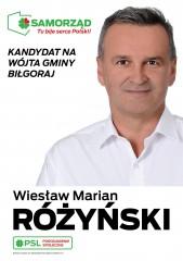 Wiesław Różyński kandydatem na Wójta Gminy Biłgoraj
