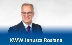 Podziękowania KWW Janusza Rosłana