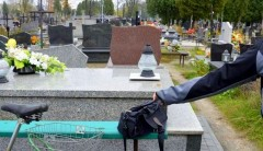 Bezpieczniej wokolicach cmentarzy