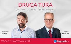 II tura wyborów - Rosłan vs. Gleń