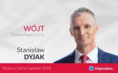 Oficjalne wyniki wyborów - Potok Górny