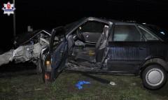 Pijany 57-latek spowodował wypadek