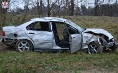 Nietrzeźwy 21-latek doprowadził do wypadku
