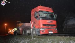 Rowerzysta zginął pod kołami ciężarówki