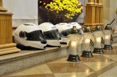 W intencji zmarłych motocyklistów