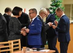 Spotkanie opłatkowe radnych Rady Miasta Biłgoraj