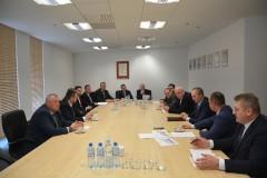 Spotkanie wójtów powiatu biłgorajskiego