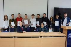 Laureaci konkursów organizowanych przez PWSZ wZamościu