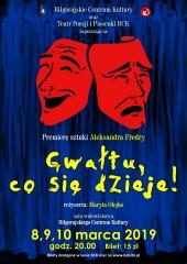 Fredro wspódnicy, czyli kolejna premiera teatru BCK