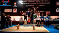 Złota Agnieszka isrebrny Kacper!