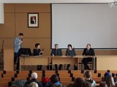 Uczennice ONZ-tu wAkademii Młodych Humanistów