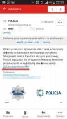 Policja ostrzega - uważaj na fałszywe wiadomości