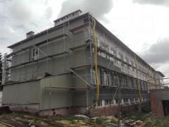 Trwa termomodernizacja szkoły wKorchowie Pierwszym