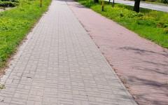 350 tys. zł od powiatu na budowę chodnika iścieżki rowerowej
