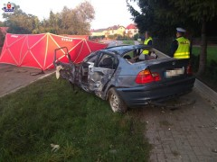 Śmiertelny wypadek wSoli
