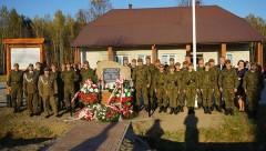 Odsłonięcie pomnika ofiar wojny