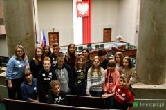 Uczestnicy II Gminnej Debaty Oksfordzkiej zwiedzali stolicę