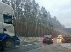 Zderzyły się dwie ciężarówki