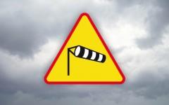 Ostrzeżenie osilnym wietrze
