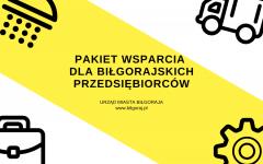 Pakiet pomocowy dla biłgorajskich przedsiębiorców