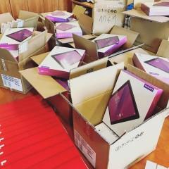 80 tabletów dla uczniów zterenu powiatu