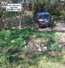 Zgłosiła kradzież samochodu idostała mandat