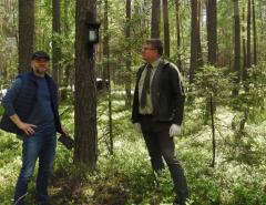 Gra terenowa wbiłgorajskich lasach