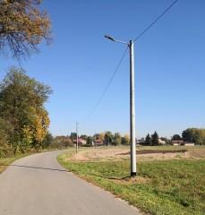 Modernizacja oświetlenia ulicznego wgminie Frampol